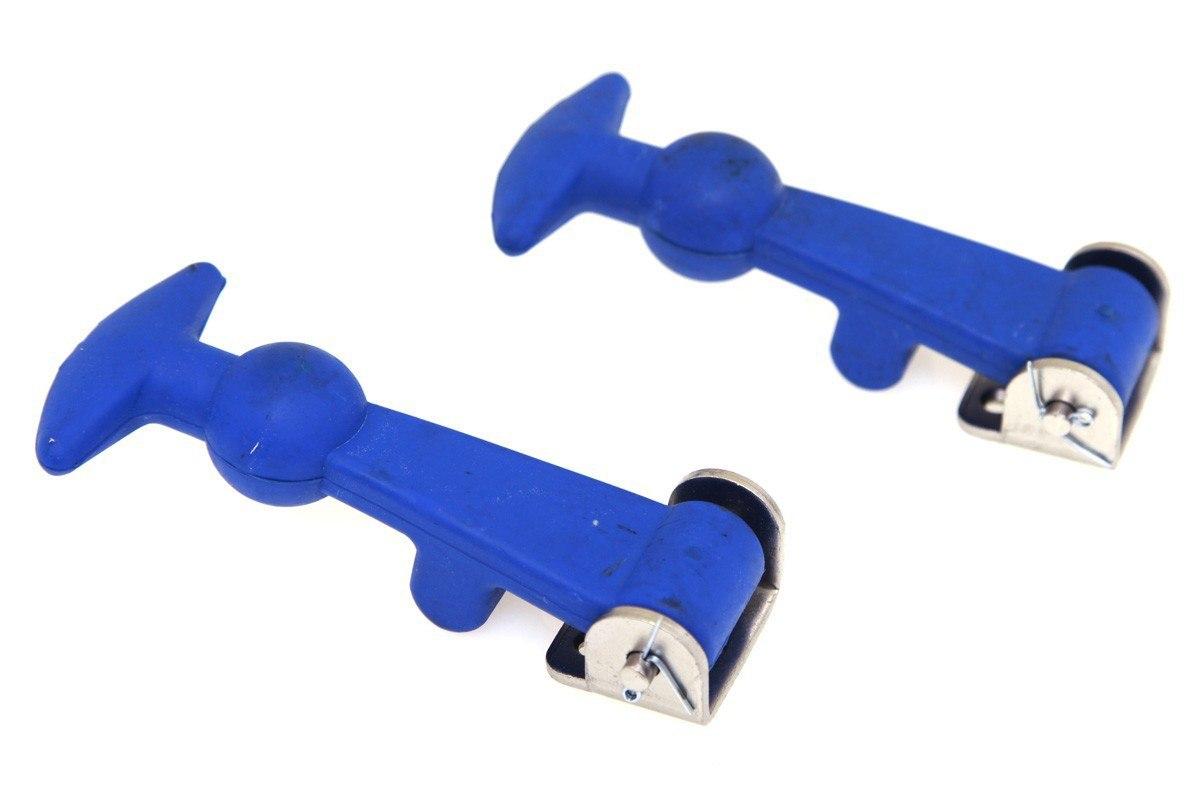 Zapinki klapy PRO Blue - GRUBYGARAGE - Sklep Tuningowy